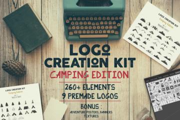 Logo Creation Kit Camping Edition