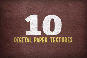 10 Grungy Digital Paper Textures