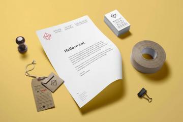 Branding and Identity Mockup Volume 14