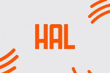 Hal: A Free Typeface Inspired by A Space Odyssey