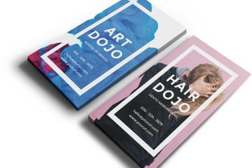 Dojo Free Vertical Business Card PSD