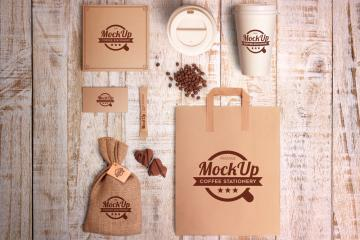 Coffee Branding and Identity Mockups