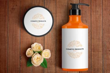 Cosmetics PSD Mockup Set