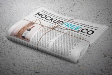 Newspaper PSD Mockup Set