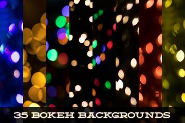 35 High Resolution Bokeh Backgrounds