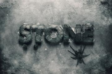 3D Stone Text Effect