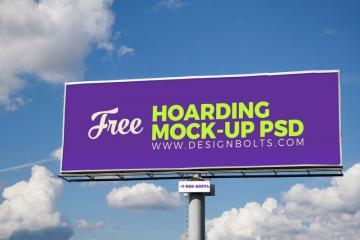Outdoor Advertising Billboard Mockup