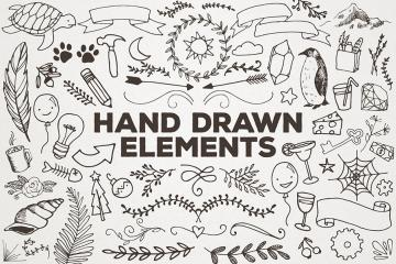 Fun, Hand Drawn Vector Elements