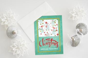 Create a Bright and Colorful Christmas Card in Photoshop