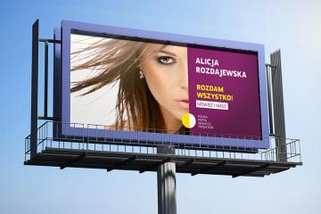 Outdoor Billboard PSD Mockup Set