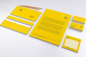Corporate Branding and Identity Mockup Set