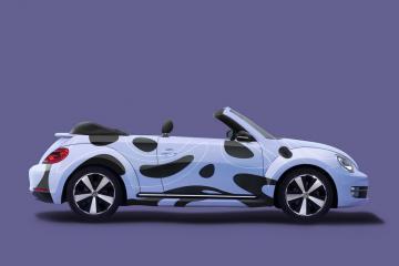 Beetle Car Branding Mockup