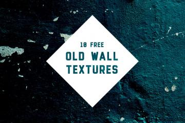 10 Old Wall Textures