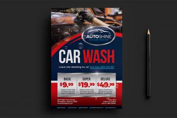 Car Wash Templates Mini Pack