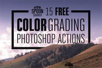 15 Color Grading Photoshop Actions