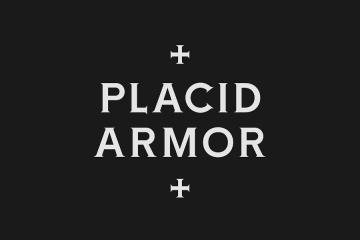 Placid Armor Serif Medium Font
