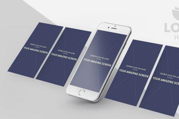 iPhone 6s Plus Screen Mockup