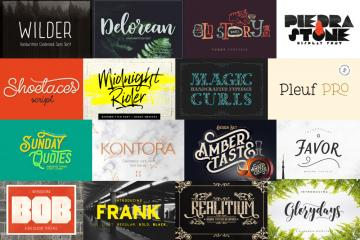 "Limited Time: The ""Not Like the Others"" Font Bundle"