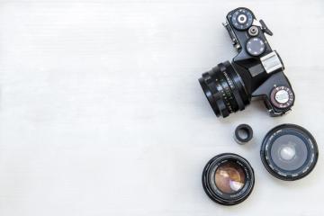 7 Retro Camera Stock Photos