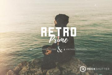 Retro Prime Photoshop Actions