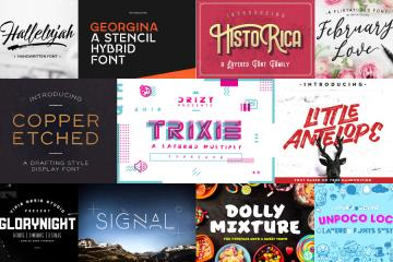 Limited Time: 43 Stylish Fonts for Every Designers
