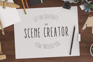 Creativity Header Scene Creator