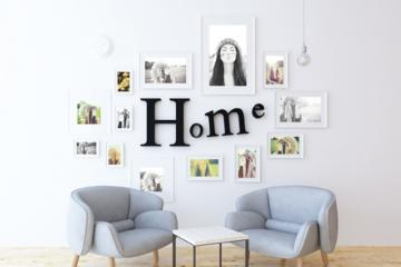 Multi Frame Gallery Wall Mockup
