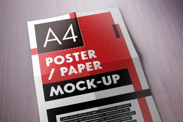 A4 Poster Mockups