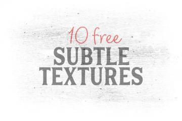 10 Subtle White Textures