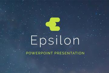 Epsilon PowerPoint Presentation Template
