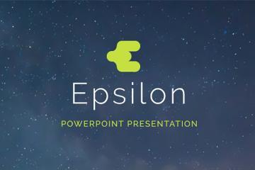 Epsilon PowerPoint Presentation Template