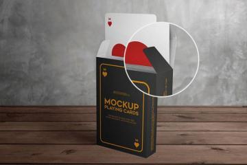 Playing Cards Mockup Set