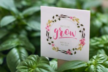 Create a Floral Baby Shower Party Favor Gift Tag in Photoshop