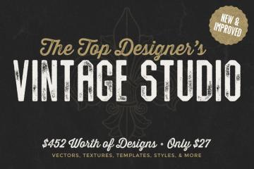 The Top Designer's Vintage Studio