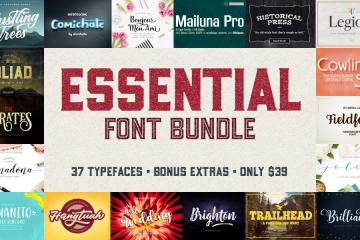37 Essential Fonts for Designers (Plus Extras)