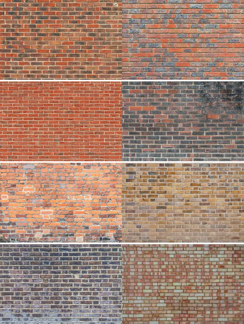 8 Brick Wall Textures