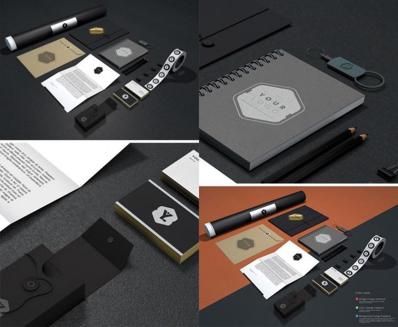 Branding and Identity Mockup Volume 11