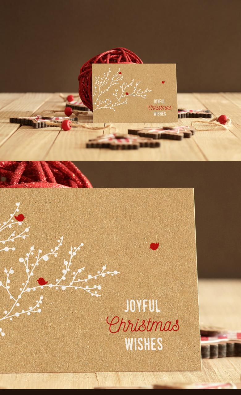Free Real Photo Invitation/Greeting Card Mockup