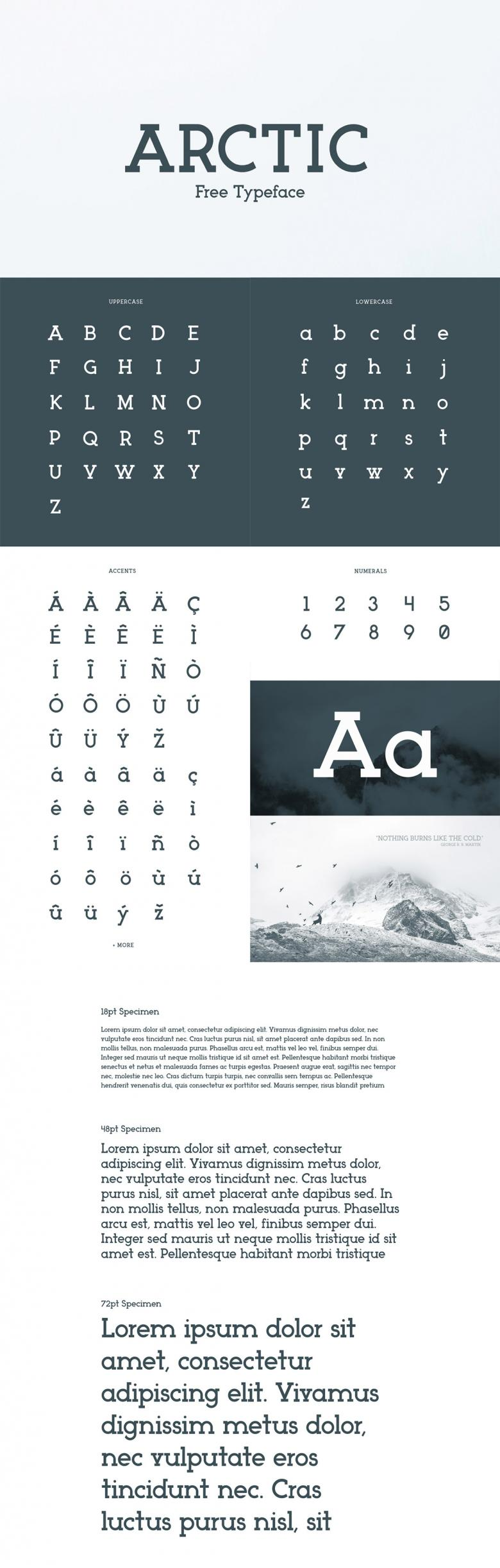 Arctic - Free Typeface