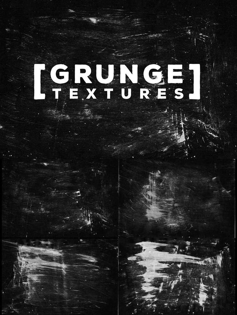 4 Free Dark Grunge Textures