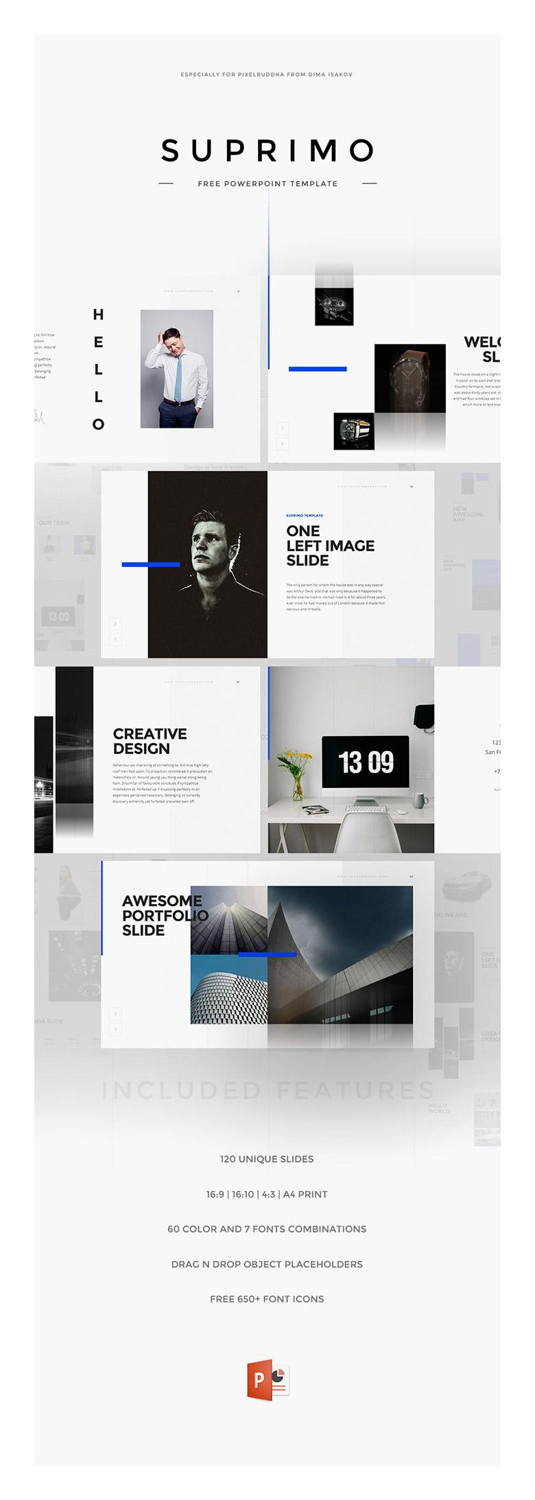 Suprimo PowerPoint Presentation Template