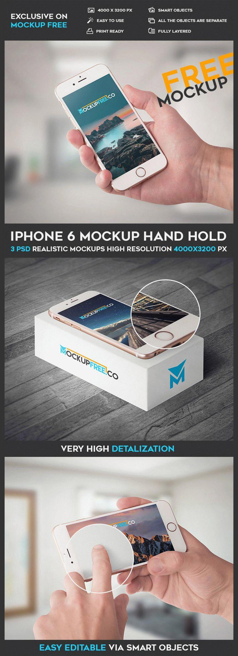 iPhone 6 Mockup Set