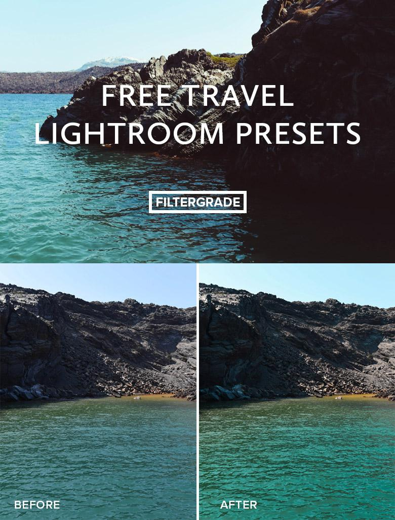 4 Free Travel Lightroom Presets