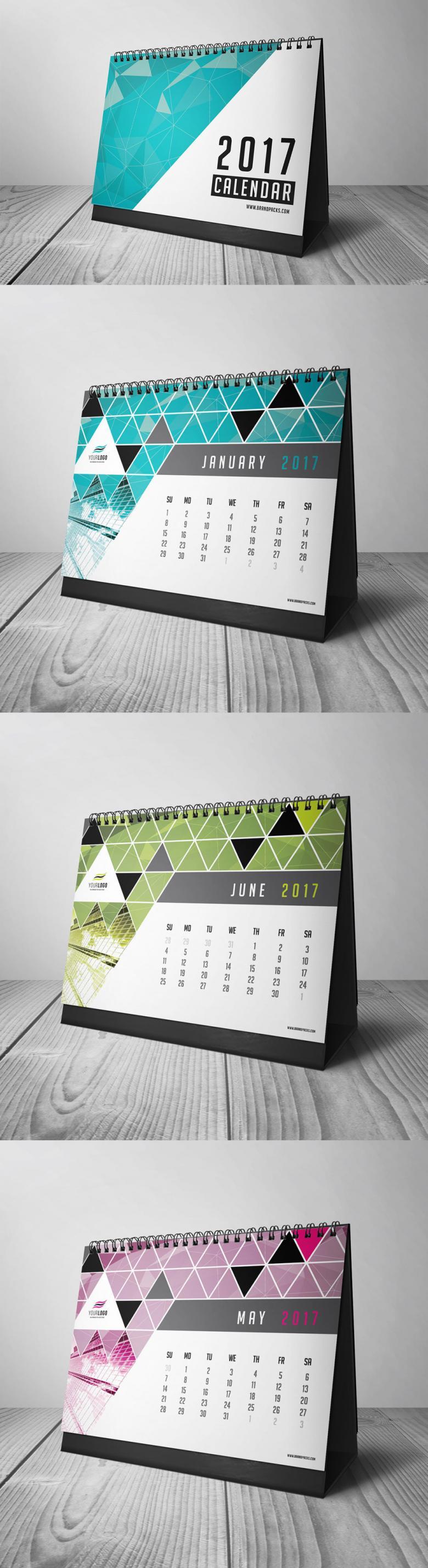 2017 Calendar Print Template