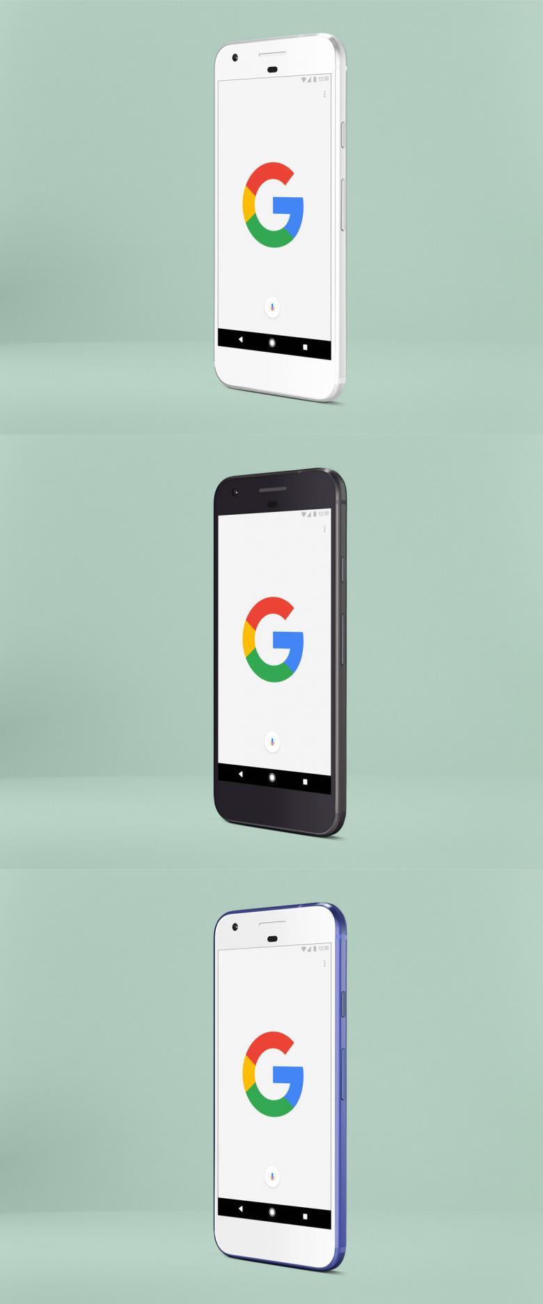 Google Pixel PSD Mockup #1