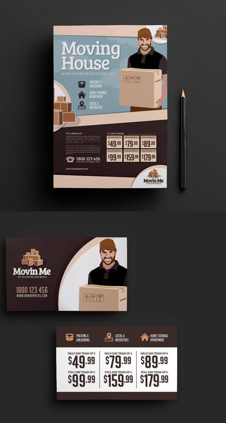 Free House Mover Business Templates