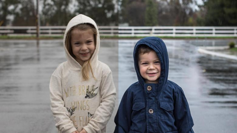 Cold Rainy Day Portrait Lightroom and Photoshop Editing Workflow