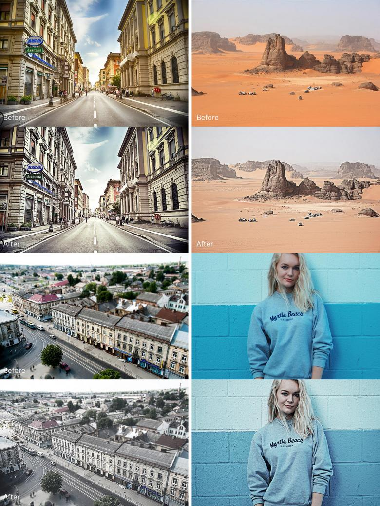Cool Breeze Photoshop Actions Set