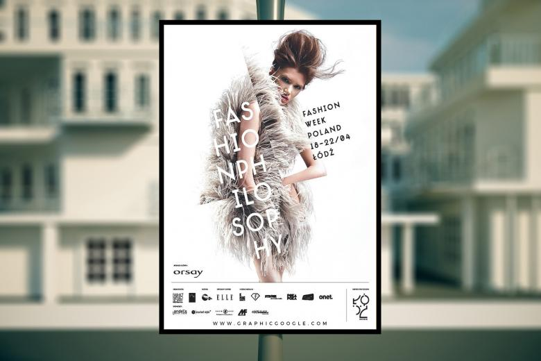 Outdoor Advertising Poster Mockup