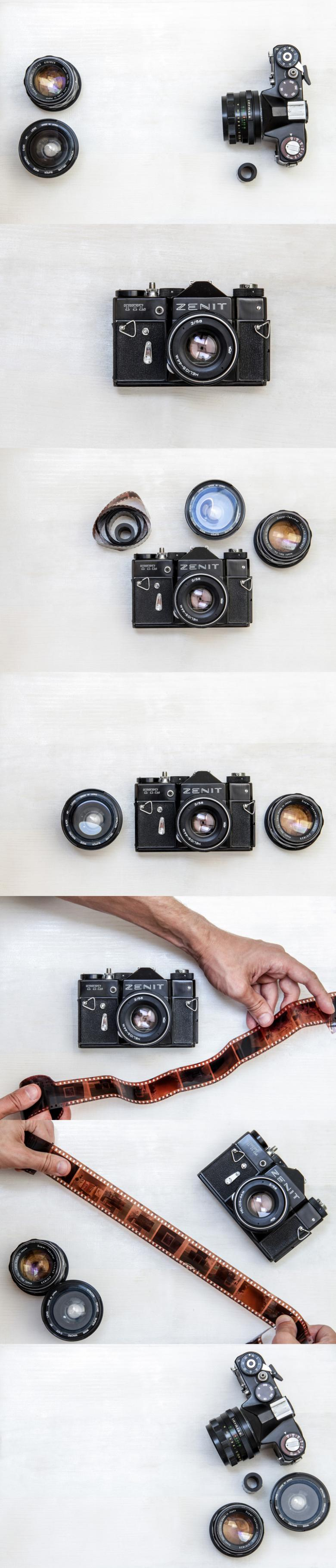 7 Retro Camera Stock Photos